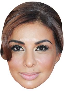 SHOBNA GULATI JB - Coronation Street Actors Fancy Dress Cardboard Celebrity Face Mask