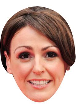 SURANNE JONES JB - Coronation Street Actors Fancy Dress Cardboard Celebrity Face Mask