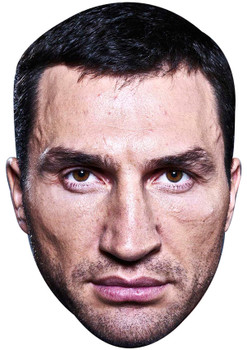 WLADIMIR KLITSCHKO JB - Boxing Fancy Dress Cardboard Celebrity Face Mask
