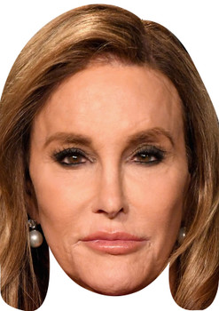 Caitlyn jenner & ian wright celebrity party face fancy dress masks pack im a celebrity