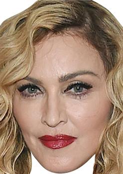 Madonna 2020 Face Music Star celebrity Party Face Fancy Dress