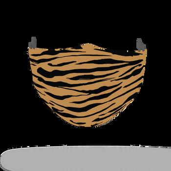 Tiger Animal Skin Print Face Covering 3