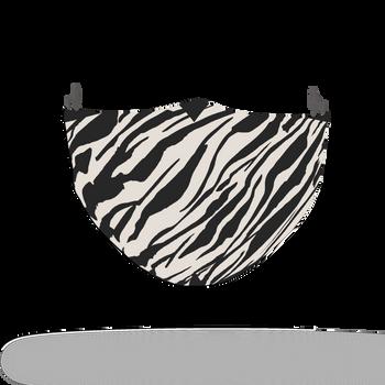 Zebra Animal Skin Face Covering Print 10
