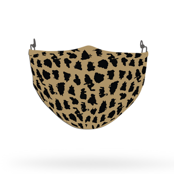 Cheetah Leopard Animal Skin Face Covering Print 11