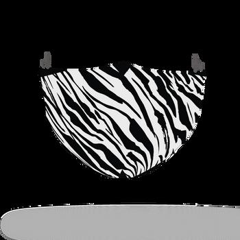 Zebra Tiger Animal Skin Face Covering Print 18