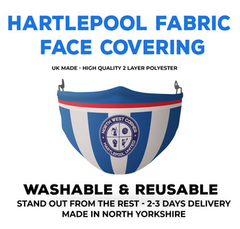 Hartlepool United Football face Mask 2