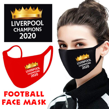 Liverpool Champions 2020 Football Face Covering D1 RED