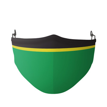 Inspired By Norwich Football Colours Face Covering