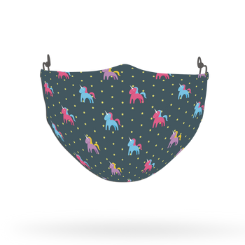 Unicorn Stars Pattern Face Covering Print 12