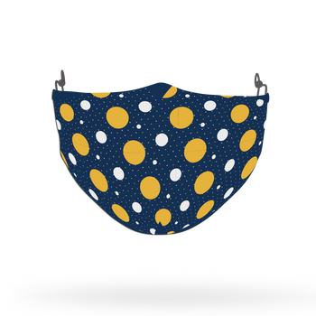 Geometrical Dotted Pattern Face Covering Print 5