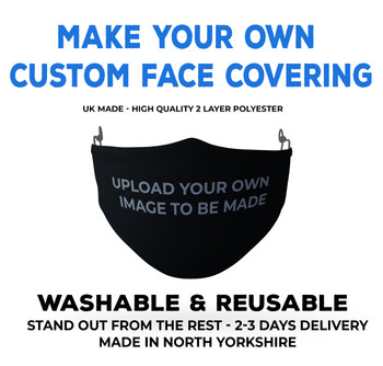 Make your own custom face covering face mask