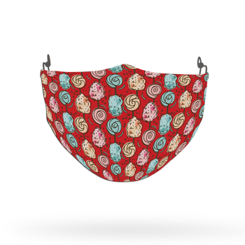 Candies Pattern Theme Pattern Face Covering Print 1