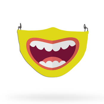Smile Theme Face Covering Print 2