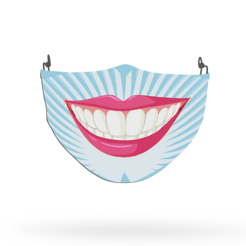 Smile Theme Face Covering Print 3