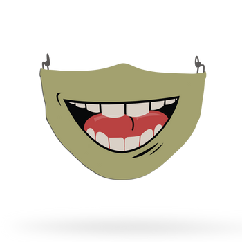 Smile Theme Face Covering Print 4
