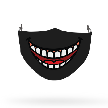 Smile Theme Face Covering Print 5