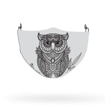 Owl Animal Face Covering Print 4