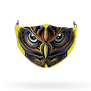 Owl Animal Face Covering Print 10
