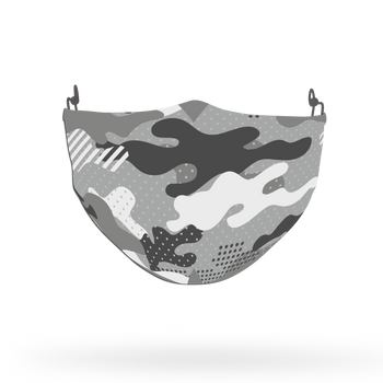 Camouflage Pattern Face Covering Print 9