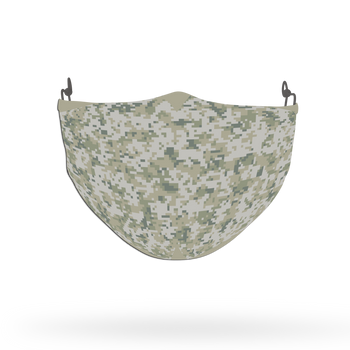 Camouflage Pattern Face Covering Print 11
