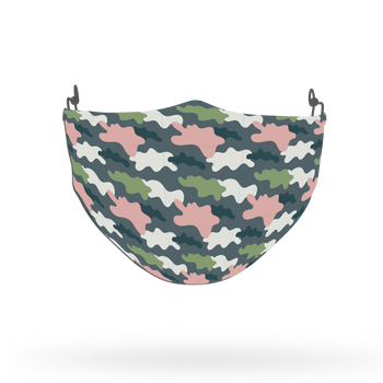 Camouflage Pattern Face Covering Print 12