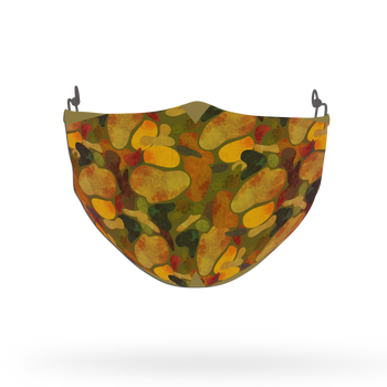 Camouflage Pattern Face Covering Print 14