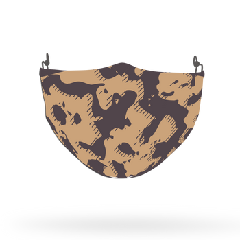 Camouflage Pattern Face Covering Print 16