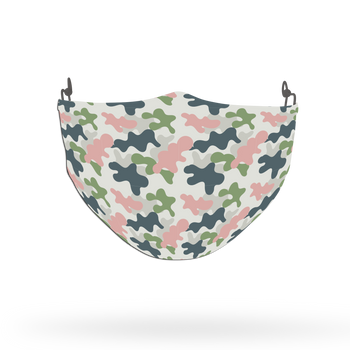 Camouflage Pattern Face Covering Print 19