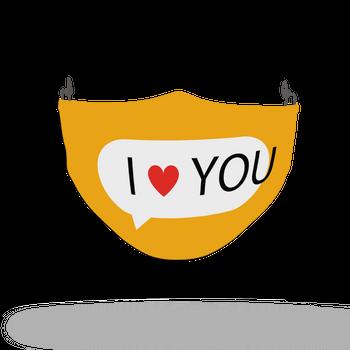 Emoji Pattern Face Covering Print 1