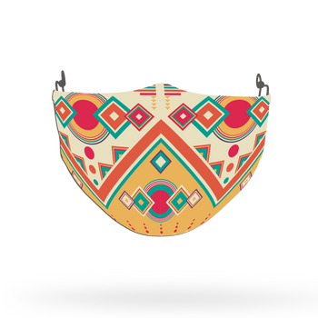 Ethnic Pattern Face Covering Print 30