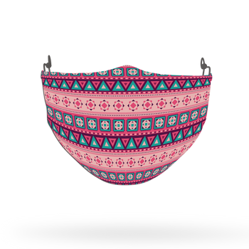 Ethnic Pattern Face Covering Print 32