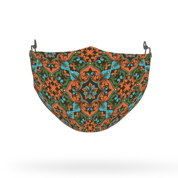 Ethnic Pattern Face Covering Print 36