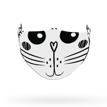 Cat Pattern Face Covering Print 26