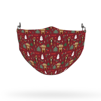 Winter Pattern Face Covering Print 33