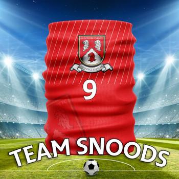 Duncombe Park FC Team Club Snood - Club Colours