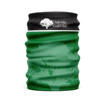 Oakridge Golf Club -  Team Club Snood Club Colours Green/Black