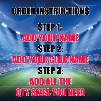 Your Team Club Snood Order Sheet - FACEBOOK PAYMENT LINK