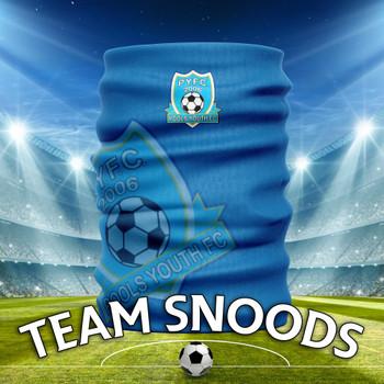 Pools Youth PYFC -  Team Club Snood Club Colours