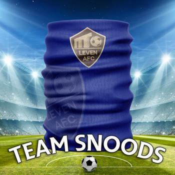 Leven FC - Team Club Snood Club Colours