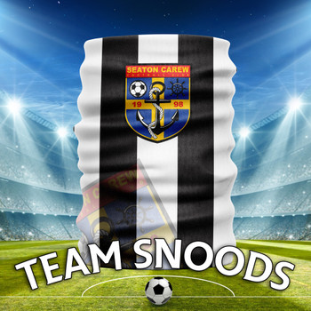 Seaton Carew - Team Club Snood Club Colours