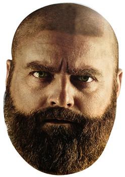 Bald Zach Galifinakis Face Mask