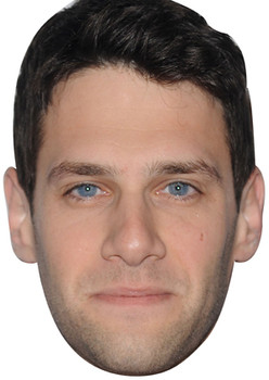 Justin Bartha Celebrity Face Mask