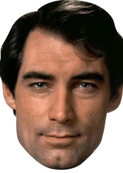 Timothy Dalton James Bond Face Mask