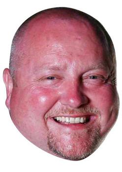 Andy Hamilton Darts Celebrity Face Mask