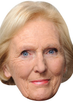 Mary Berry Celebrity Face Mask