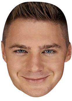 Scott Timlin Geordie Shore Celebrity Face Mask