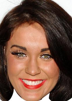 Vicky Pattison Geordie Shore Celebrity Face Mask