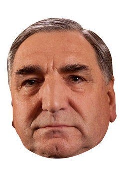 Mr Carson Downton Abbey Celebrity Face Mask