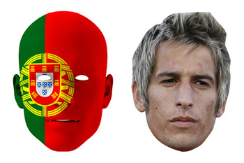 Portugal World Cup Face Mask Pack Coentrao