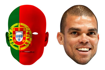 Portugal World Cup Face Mask Pack Pepe